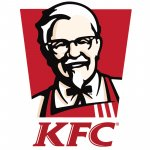 Logo KFC partenaire publicité publi ticket